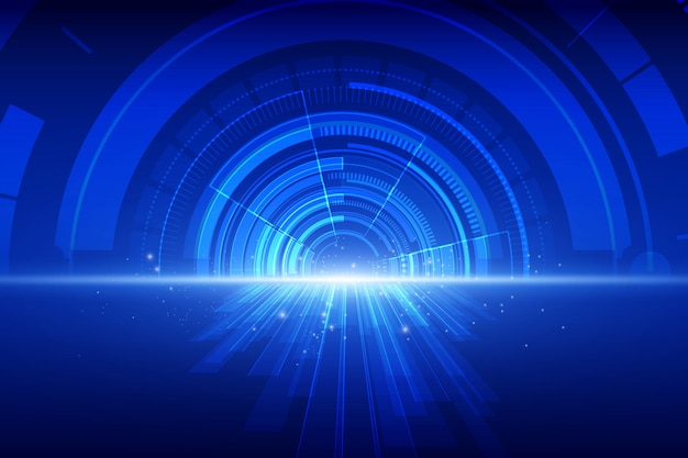 抽象的な技術速度の背景