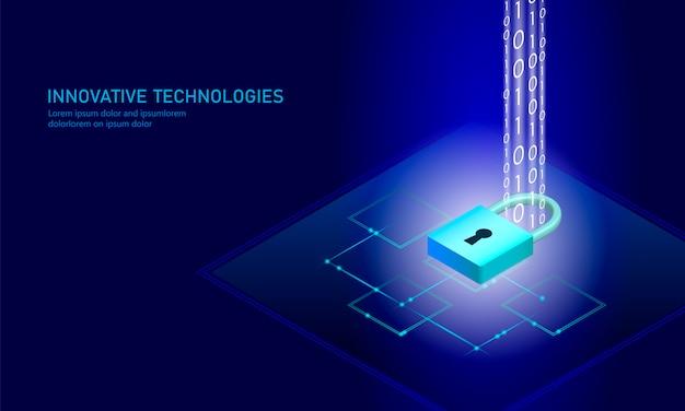等尺性インターネットセキュリティロック事業コンセプト。