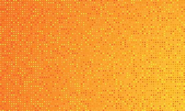 オレンジ色のグラデーションの背景と丸いドット。