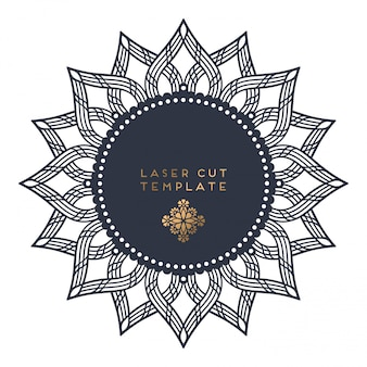 Лазерная резка шаблона