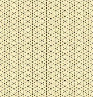ベクトルのシームレスなパターン現代的なスタイリッシュなテクスチャ点在した菱形と幾何学的なタイルを繰り返す