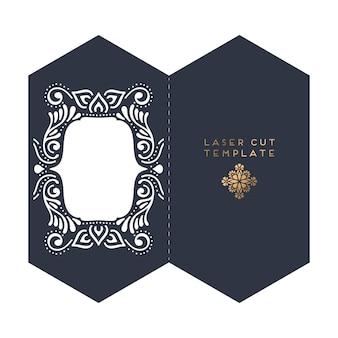 Свадебный шаблон для лазерной резки