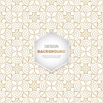 豪華な装飾曼荼羅のデザインの背景