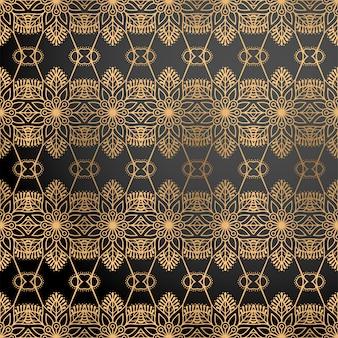 金色の豪華な装飾的な背景