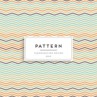 スカンジナビアのシームレスなパターン。ファブリックプリントデザイン