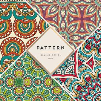 イスラムのパターンを設定する
