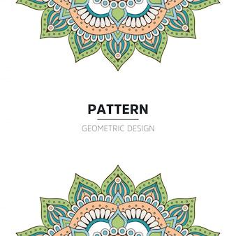 Мандала дизайн фона
