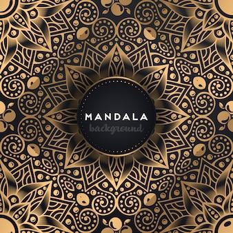高級観賞用マンダラデザインの背景