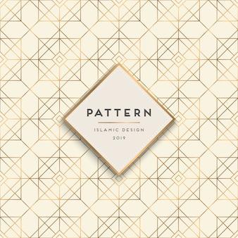 幾何学的なシームレスパターンの背景