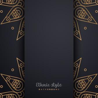 豪華なアラビア風デザイン