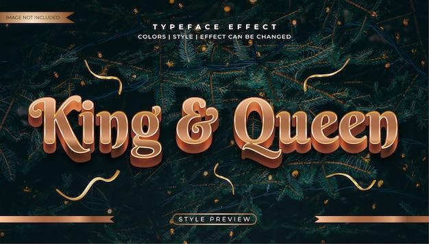 Роскошные золотые деревянные текстовые эффекты