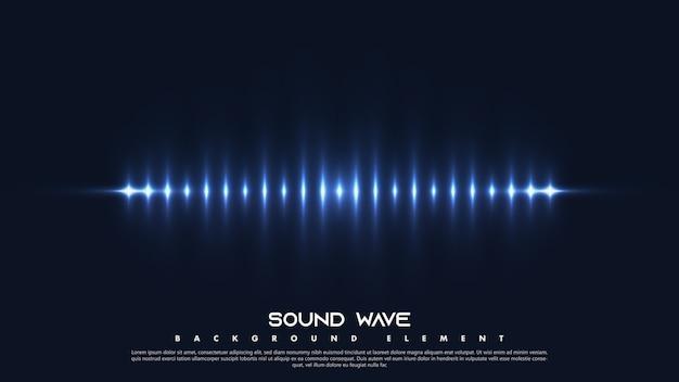 カラフルなスペクトルの音。