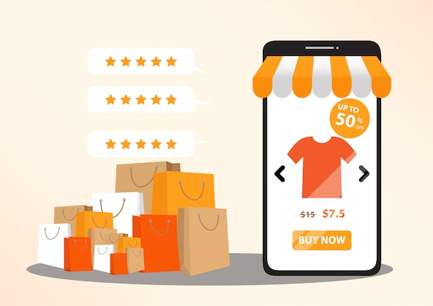 Концепция интернет-магазинов