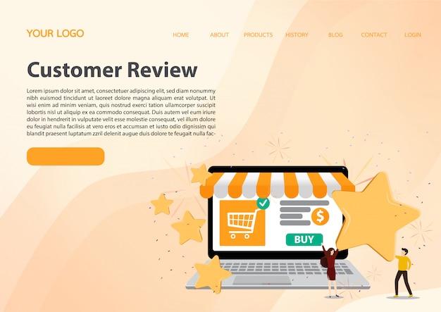Рейтинг отзывов клиентов.