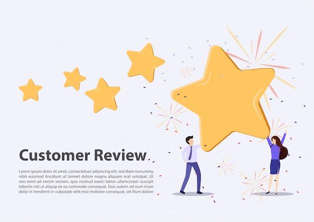 Концепция отзывов клиентов
