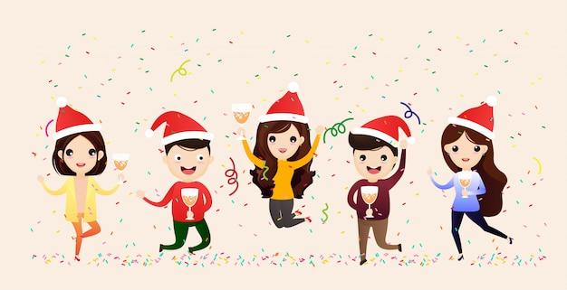Веселого рождества и счастливого нового года.