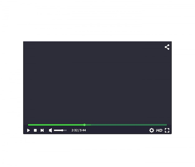 ビデオプレーヤーインターフェース