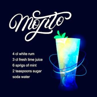 Мохито алкогольный коктейль рецепт.