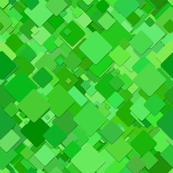 緑色の四角いモザイクの背景