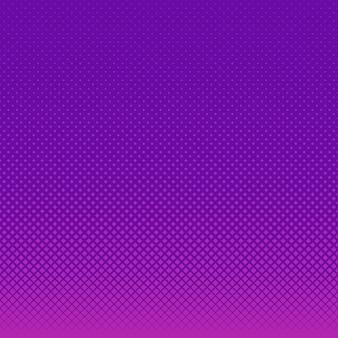 紫色のハーフトーンドットの背景