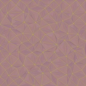 抽象的なストライプトライアングルパズルの背景デザイン