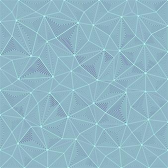 ストライプトライアングルパズルモザイクの背景