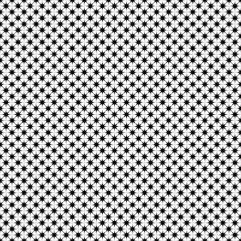 単色の星のパターン - ベクトルの背景のデザイン
