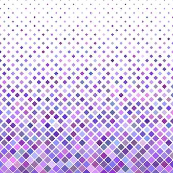色の抽象的な斜めの正方形のパターンの背景 - 紫色の四角形からのベクトルデザイン