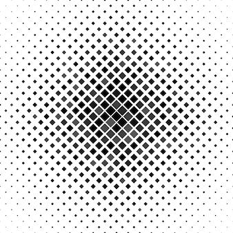 対角の正方形から灰色の抽象的な正方形のパターンの背景