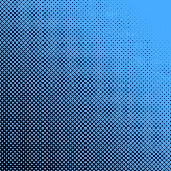 抽象的な幾何学的ハーフトーンドットパターンの背景 - さまざまなサイズの円を持つベクトルグラフィックデザイン