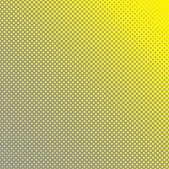 抽象的なハーフトーンサークルパターンの背景 - さまざまなサイズのドットからのベクターグラフィック
