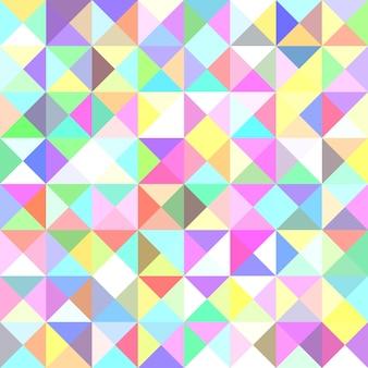 Фон с пирамидой - векторная иллюстрация мозаики из треугольников