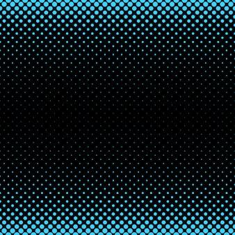 ハーフトーンドットパターンの背景 - さまざまなサイズの円からのベクトル図