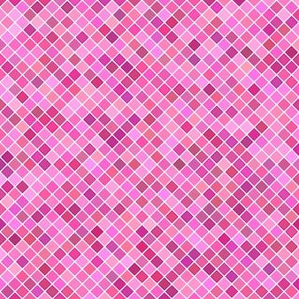 正方形のパターンの背景 - 対角線の四角形からのベクトルグラフィック
