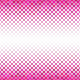 ピンクの正方形のパターンの背景 - 幾何学的なベクトル設計