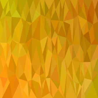 Геометрический абстрактный узор из черепичной черепицы - вектор полигональной мозаики из светло-коричневых тонированных треугольников