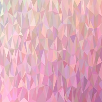Геометрический абстрактный фон хаотического треугольника - многоугольник векторной графики из цветных треугольников
