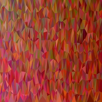 Геометрический абстрактный фон нерегулярного треугольника - векторная иллюстрация многоугольника из темных треугольников