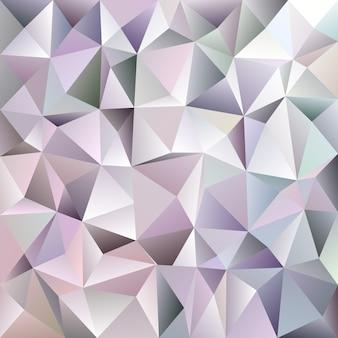 Геометрический абстрактный фон хаотического треугольника - мозаичный векторный графический дизайн