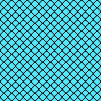 抽象的なシームレスな丸い四角い格子パターンの背景デザイン - ベクトル設計
