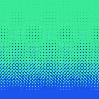 レトロ抽象的なハーフトーン楕円パターンの背景 - 対角線の楕円形のドットを持つベクトルデザイン