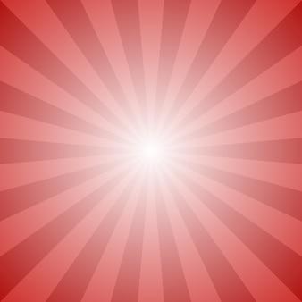動的な抽象的な太陽の光線の背景 - ラジアルストライプパターンからのベクトルグラフィックデザイン