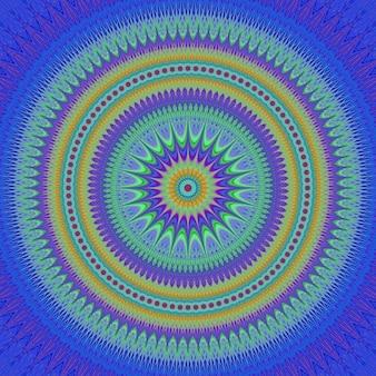色とりどりのフラクタル背景デザイン