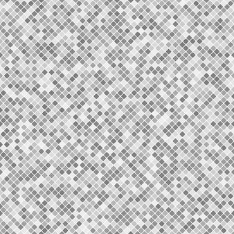 幾何学的な対角線の四角いモザイクパターンの背景