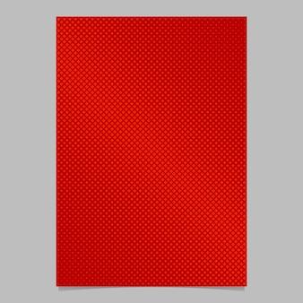 Геометрическая полутоновая квадратная брошюра с рисунком