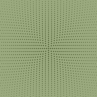 Геометрическая черно-белая абстрактная круглая точка фон
