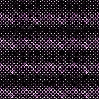 幾何学的なシームレスな紫斜め正方形パターン背景デザイン