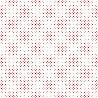 赤の抽象的なシームレスな斜めの正方形のパターンの背景