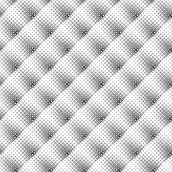 黒と白のシームレスな斜めの正方形のパターンの背景