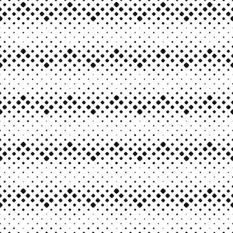 抽象的な丸みを帯びた斜めの正方形のパターンの背景